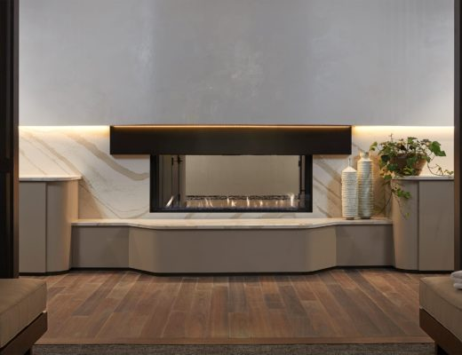 fireplace anda spa
